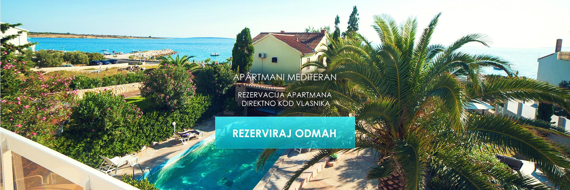 Apartmani Mediteran - rezervacija